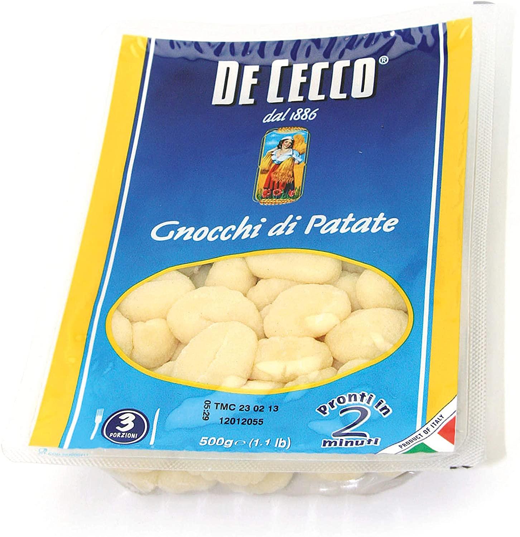 Potato Gnocchi 500g De Cecco **Collection Saturday Only Item**