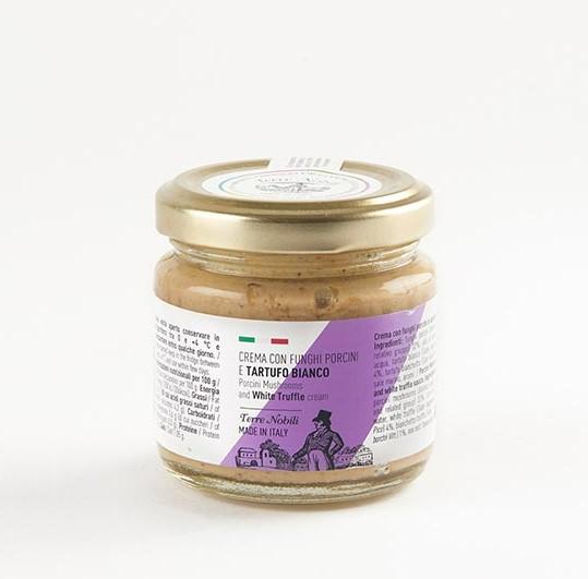 Porcini mushroom and white truffle cream 80g