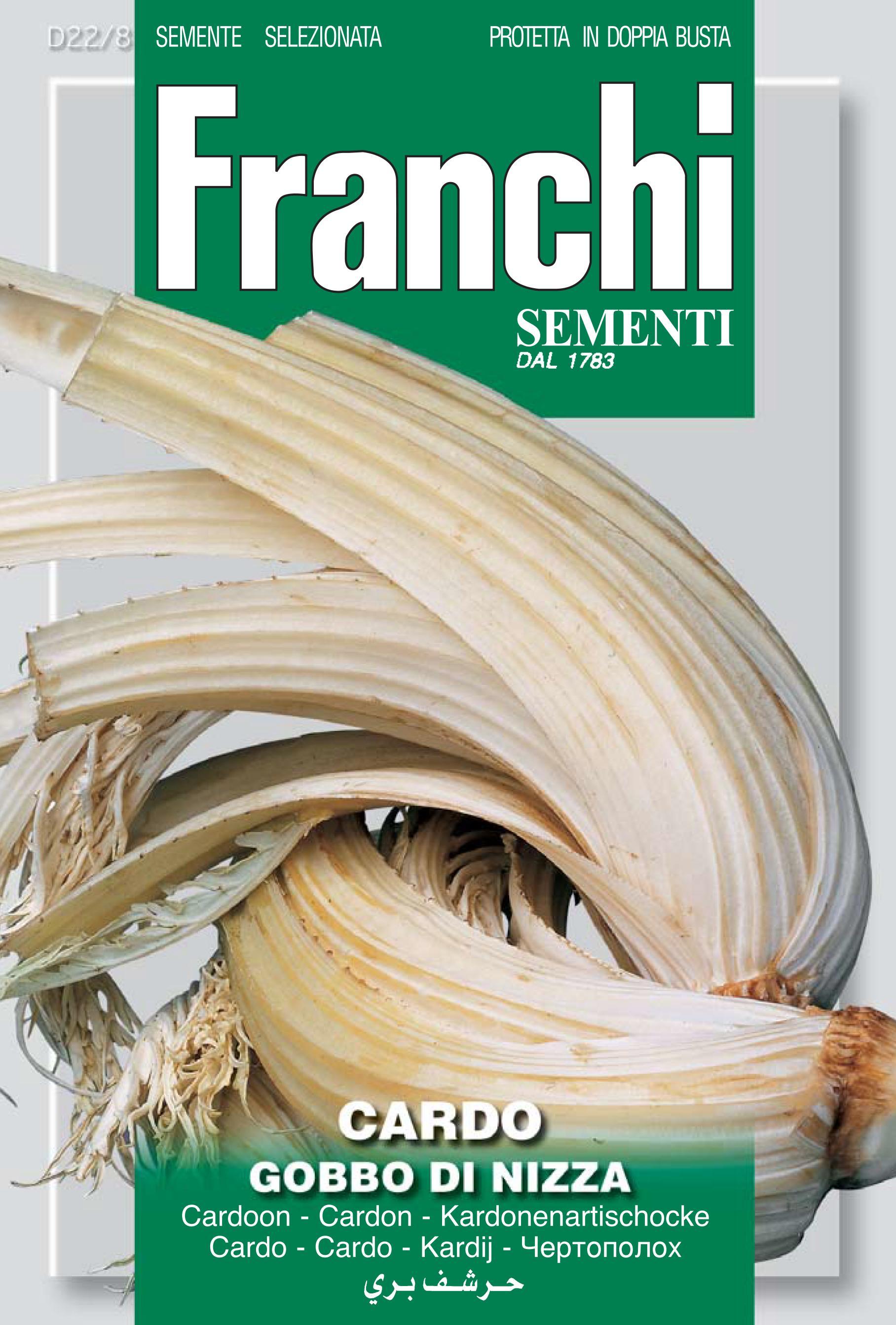 Cardoon Gobbo Di Nizza Monferrato - Endangered Variety*