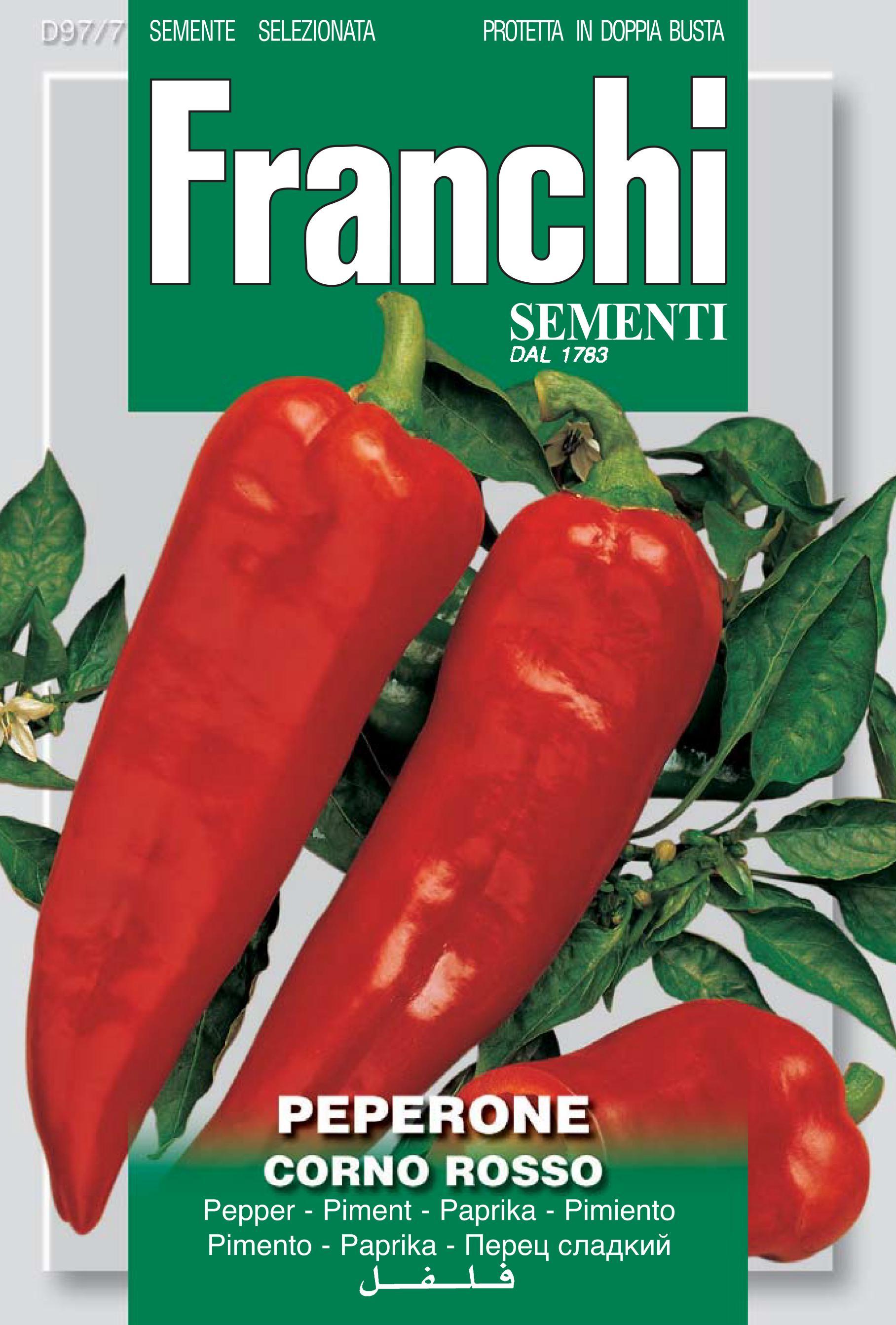 Pepper Corno Rosso (A) Capsicum annuum L.