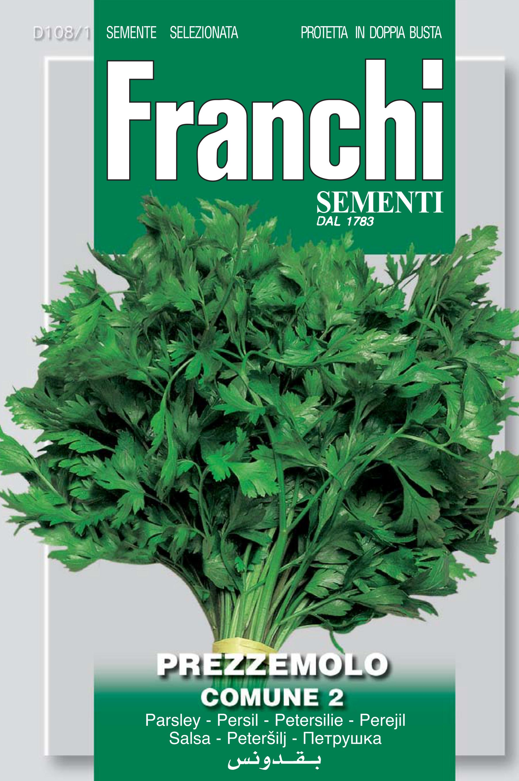 Parsley comune