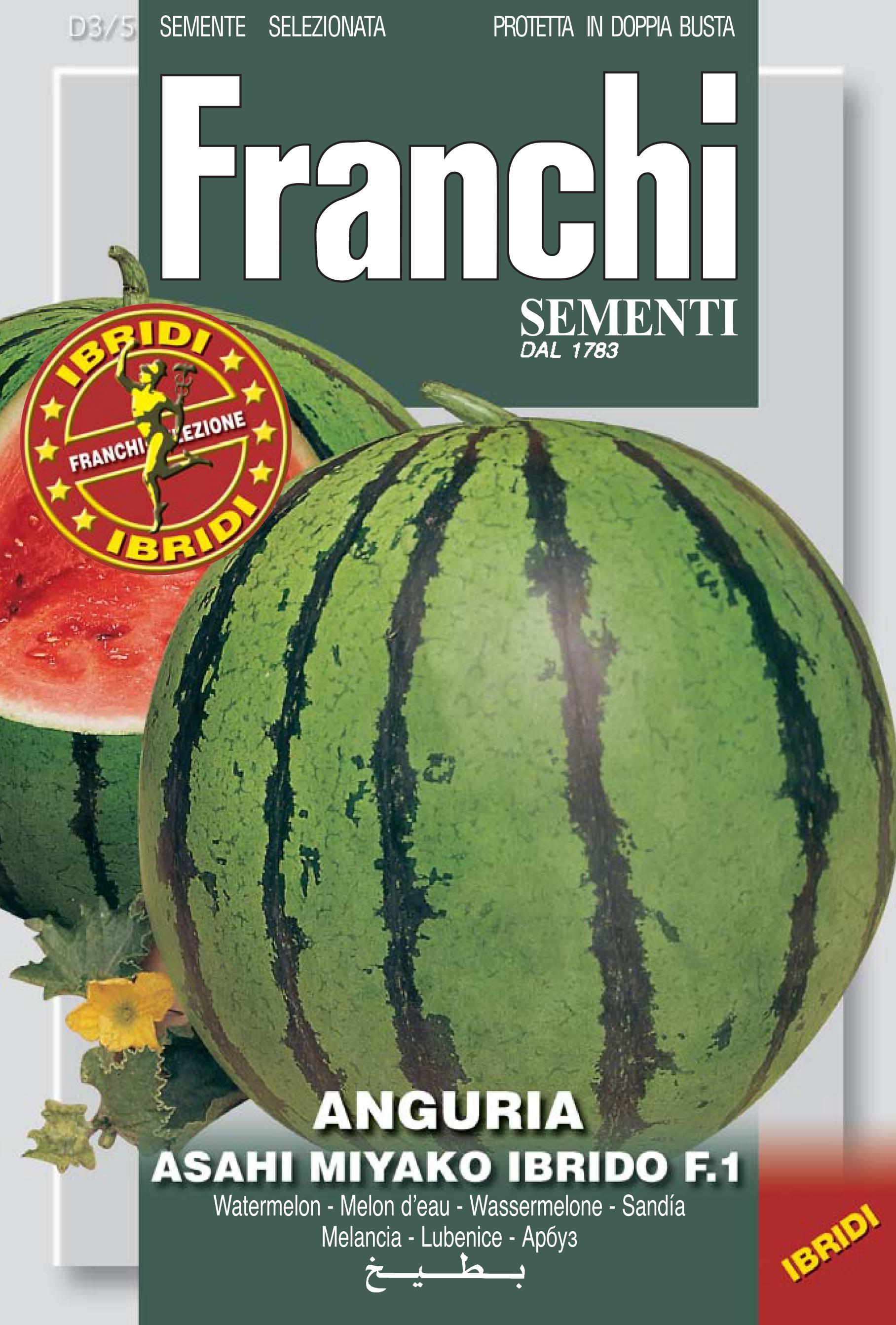 Watermelon Asahi Miyako F1