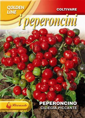 Chilli Ciliegia Piccante (A) Capsicum annuum L.
