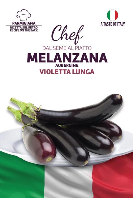 Linea Chef - Italy, Aubergine With Recipe Melanzana Parmigiana