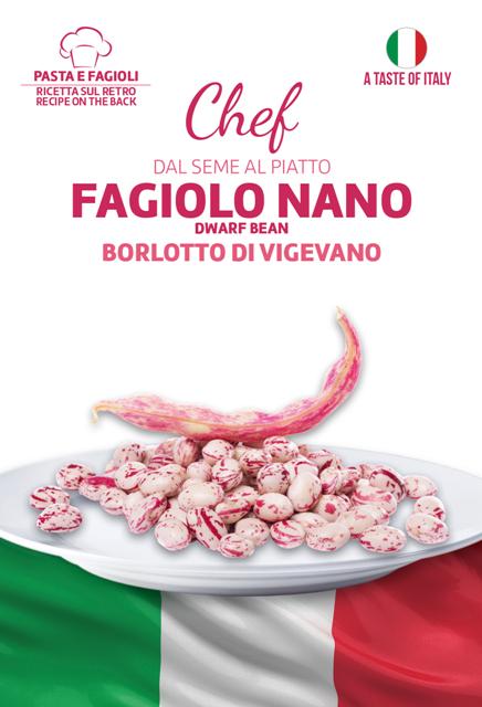 Linea Chef - Italy, Borlotto Bean With Recipe For Pasta E Fagioli (A)Phaseulus vulgaris L.