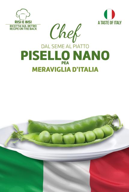 Linea Chef - Italy, Pea Meraviglia D'Italia With Risi Bisi Recipe (A) Pisum sativum L.