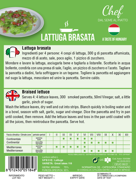 Linea Chef - Hungary, Lettuce With Recipe For Braised Lettuce