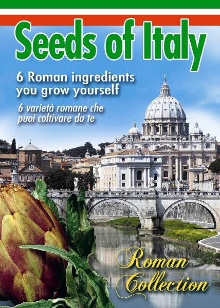 COLLEZIONE ROMA - selection of Roman seed varieties