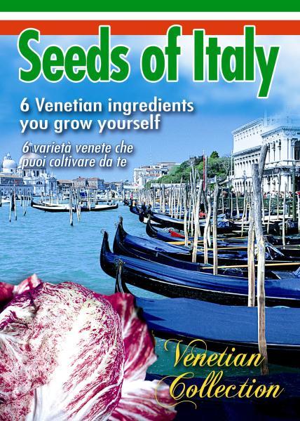 COLLEZIONE VENICE - Collection of unique Venetian veg seed varieties *Save £2*
