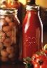 Bormioli single 1L Passata bottle with lid