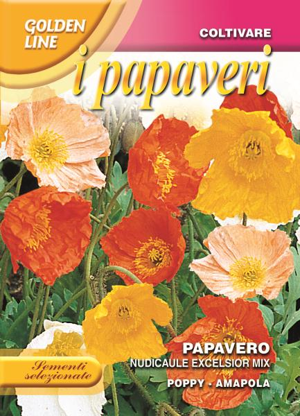 Poppy naudicale excelsior mix