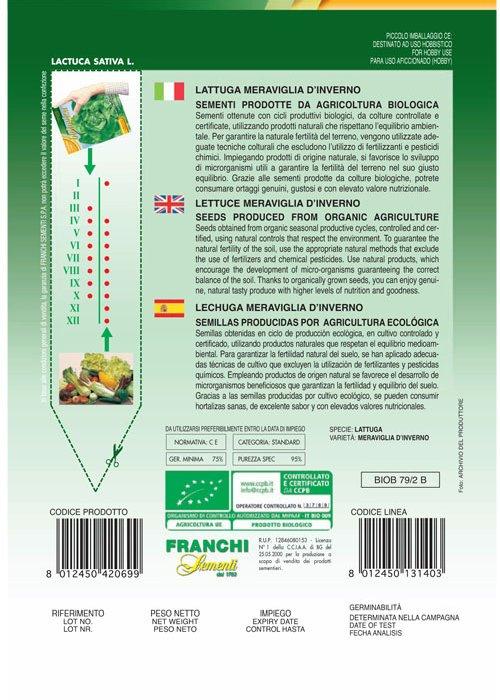 Bio Lettuce Meraviglia D'Inverno