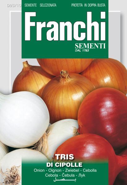Tris Of Onions Seeds (A) Allium cepa L.