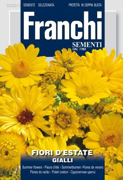 Fiori Gialli - Yellow Annual Flowers