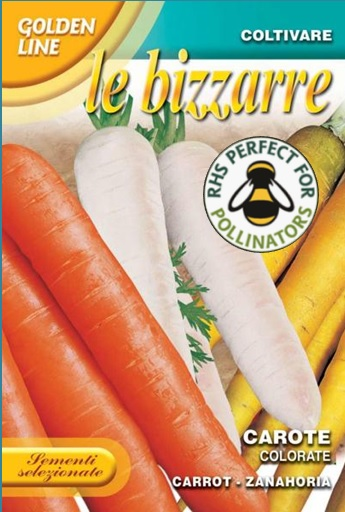 Mixed Colour Carrots