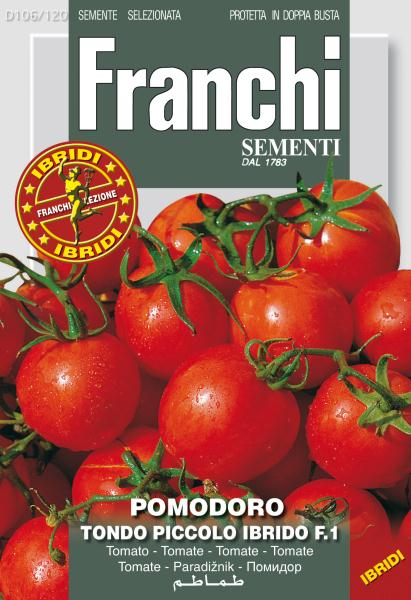 Tomato Caliendo Ex Tondo Piccolo F1 (A) Solanum Lycopersicum L.