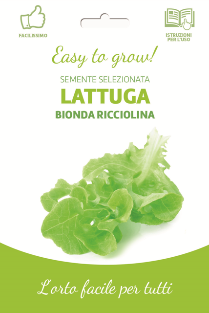 Easy Green Ricciolina Cutting Lettuce