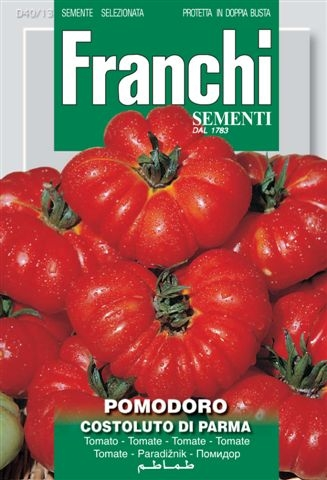 Tomato Costoluto Of Parma (A) Solanum Lycopersicum L.