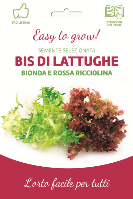 Easy Cut-And-Come-Again Red And Green Lettuce