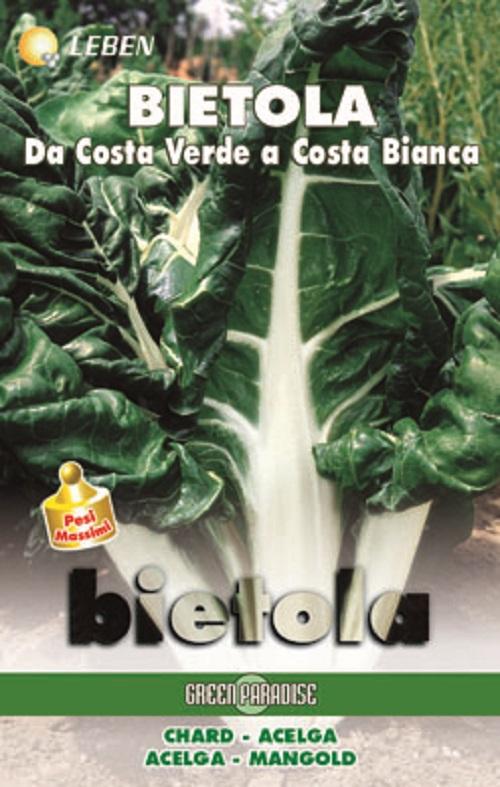 Chard - Mangold Costa Bianca 2 Leben