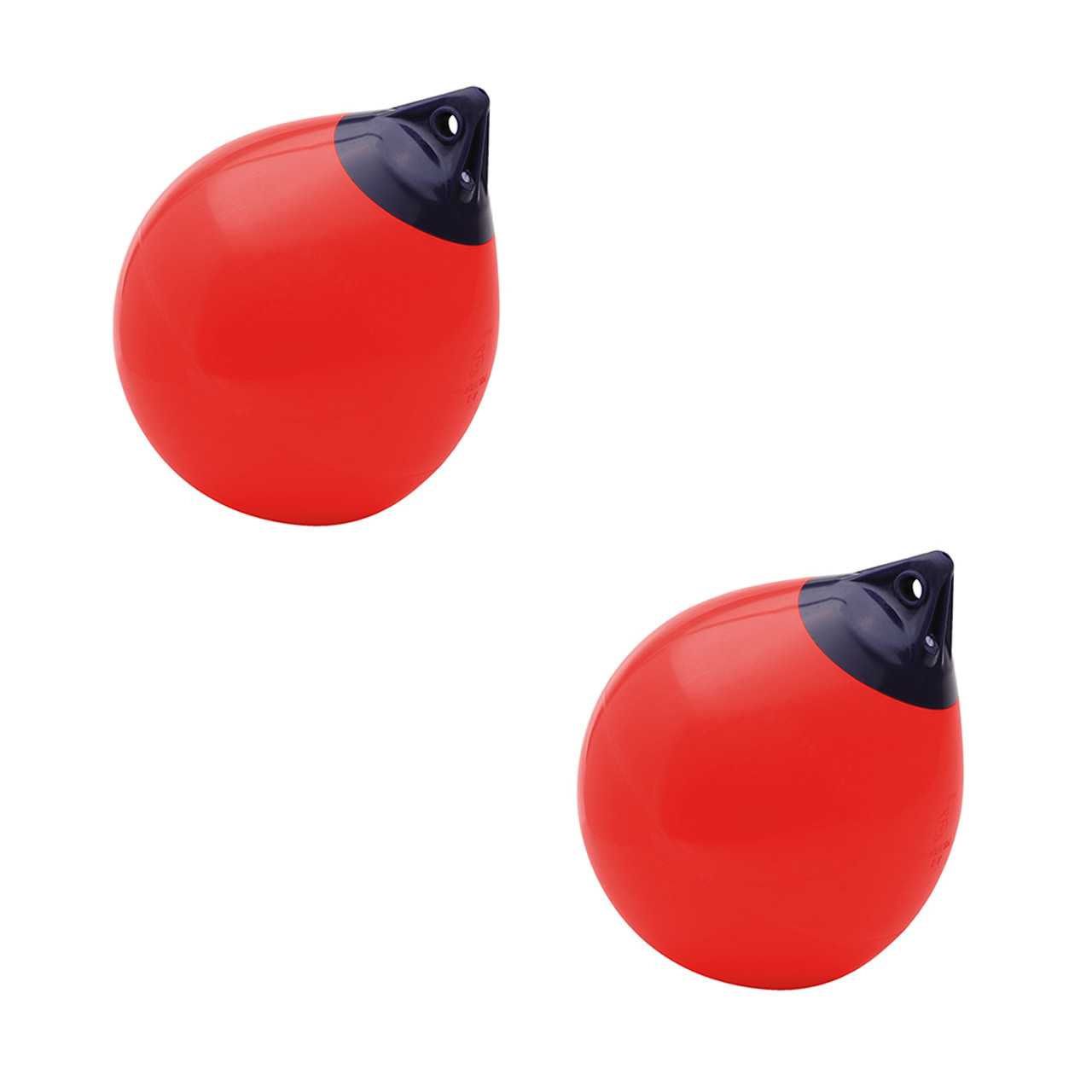 """Polyform A Series Buoy A-2 14.5/"""" Diameter Red A-2-RED"""