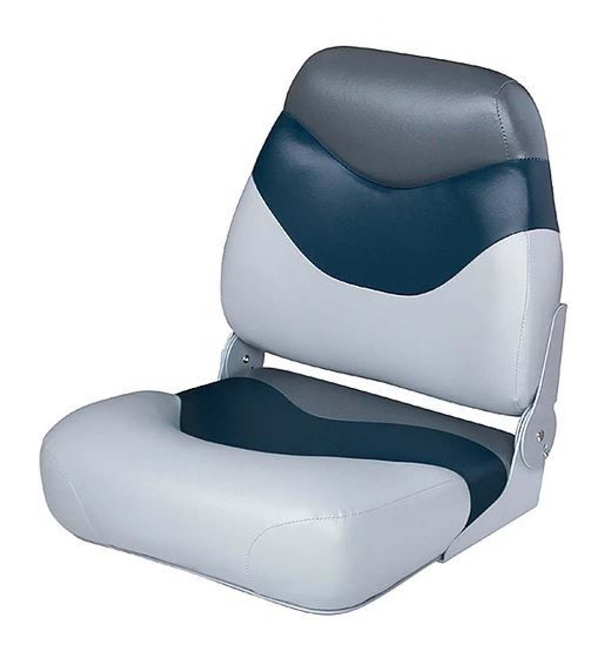 Wise   Fishing Boat Seat   Tracker Style Mid Back