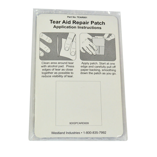 Bimini Top Accessories | Fabric Tear-Aid Repair Patch for Boat Cover |  Westland | TEAR001