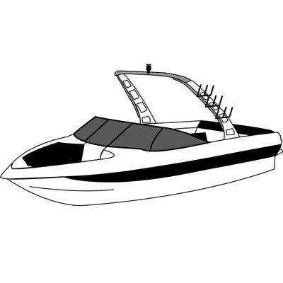 BOAT COVER FOR CORRECT CRAFT SPORT NAUTIQUE 93-97