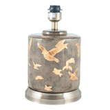 Gold Bird Ceramic Table Lamp
