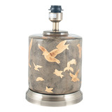 Gold Bird Ceramic Table Lamp