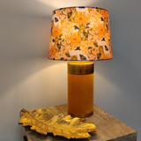 Floral Empire Lampshade in Tiger Lily Trail Fabric