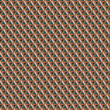 Geometric Tiger Lily Fabric in Pink, Orange and Green, By the Half or Full Metre