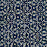 Navy Kasuri Cotton Fabric, By the Half or Full Metre