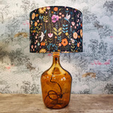 Green Flowers Lampshade