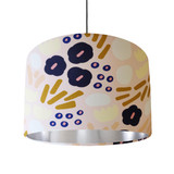 Blush Pink Garden Glory Lampshade with Gold Lining