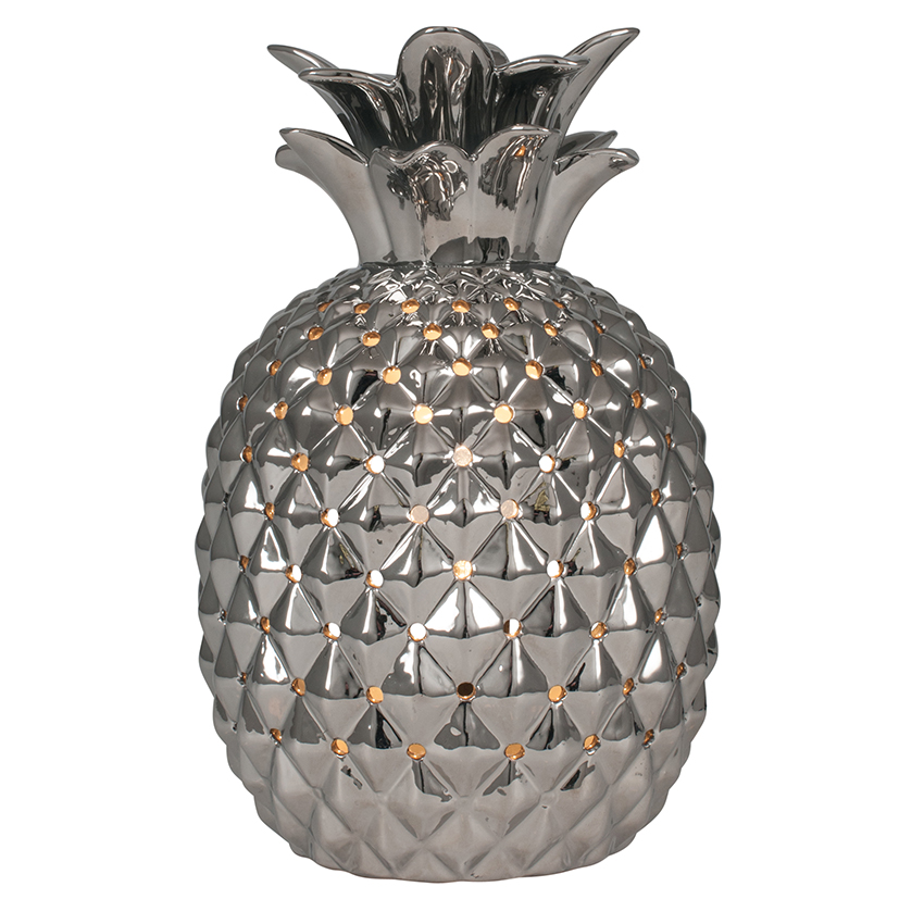 Silver Pineapple Nigh Light, Side Light