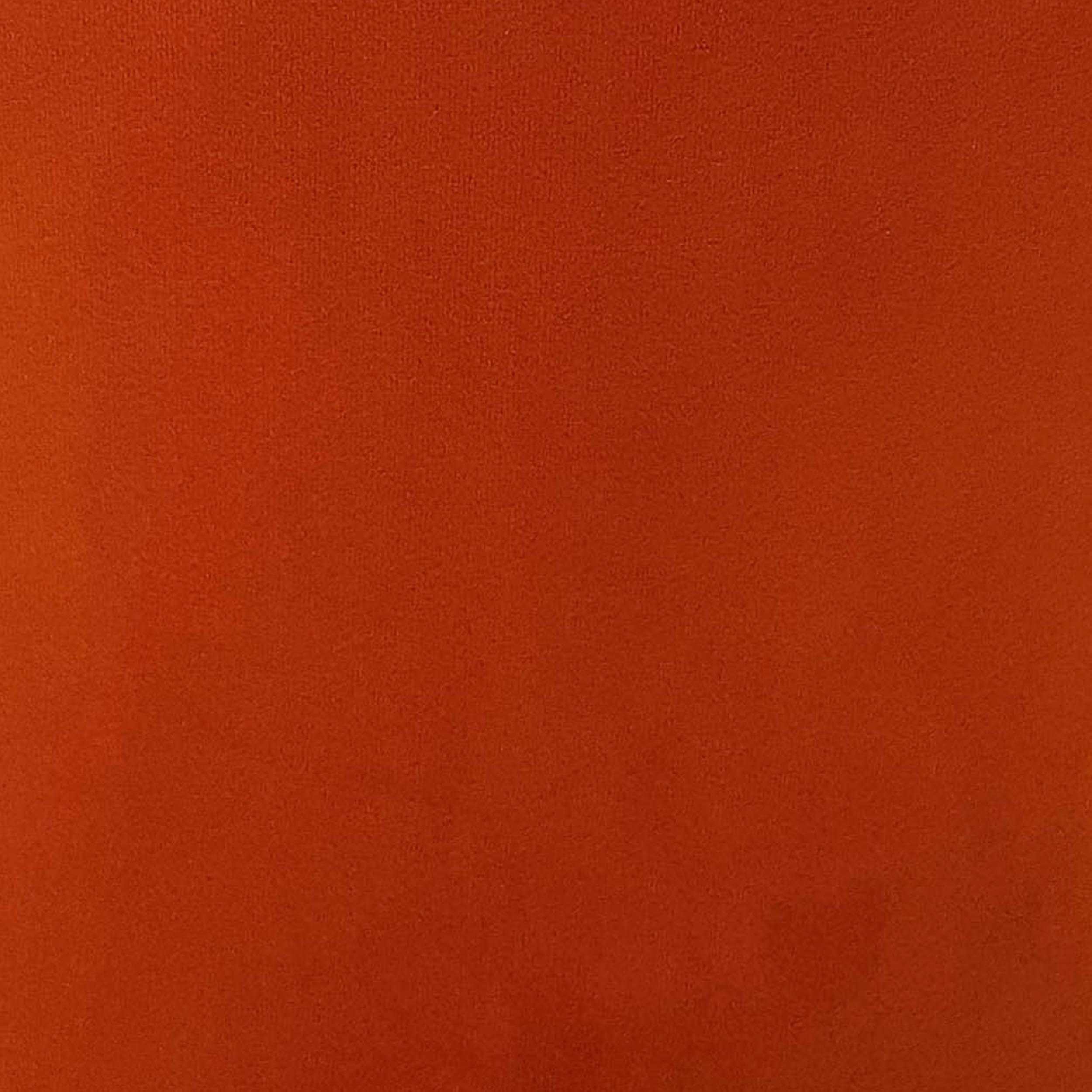 Burnt Orange Velvet Fabric to Purchase by the Metre