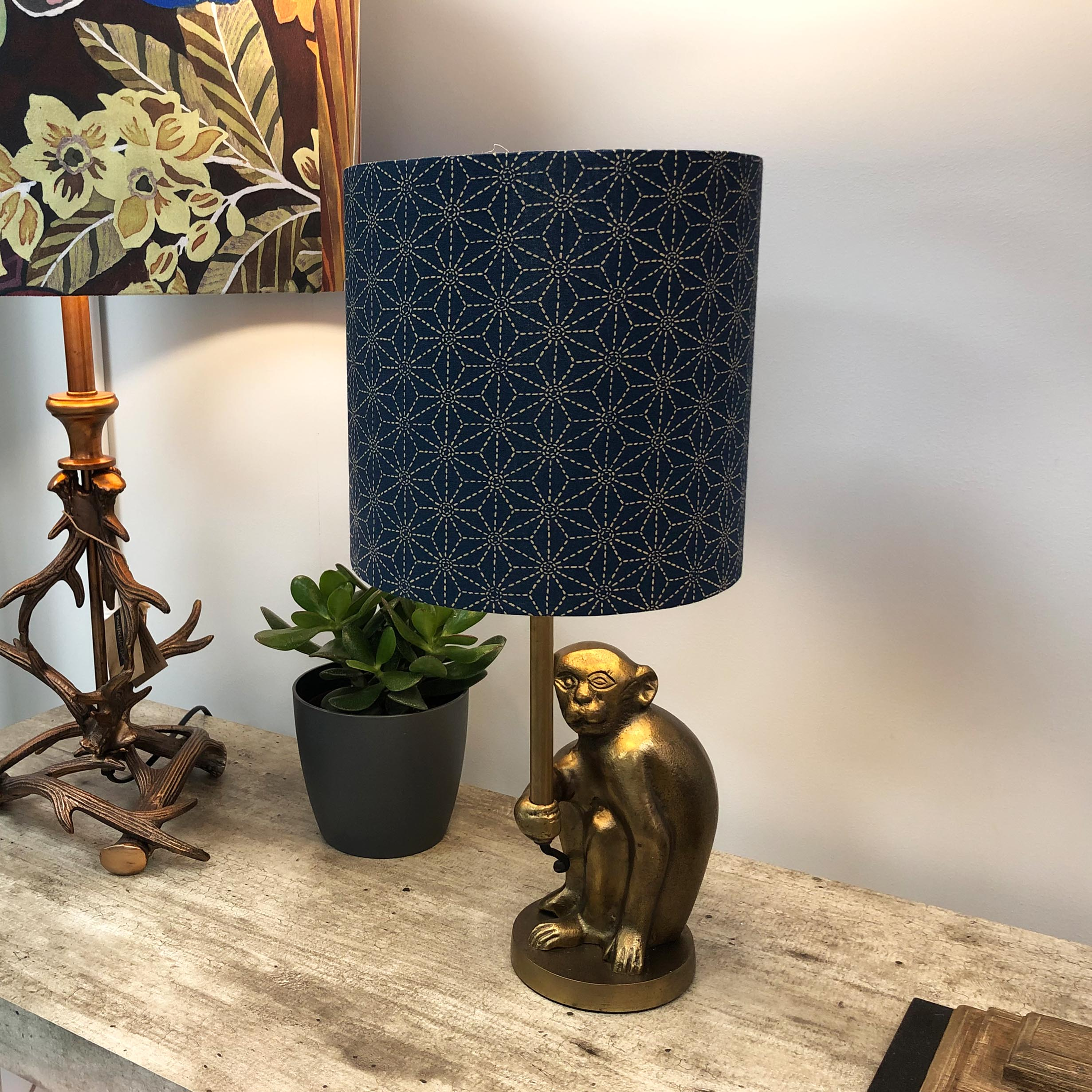 Table Lamp in quirky monkey design