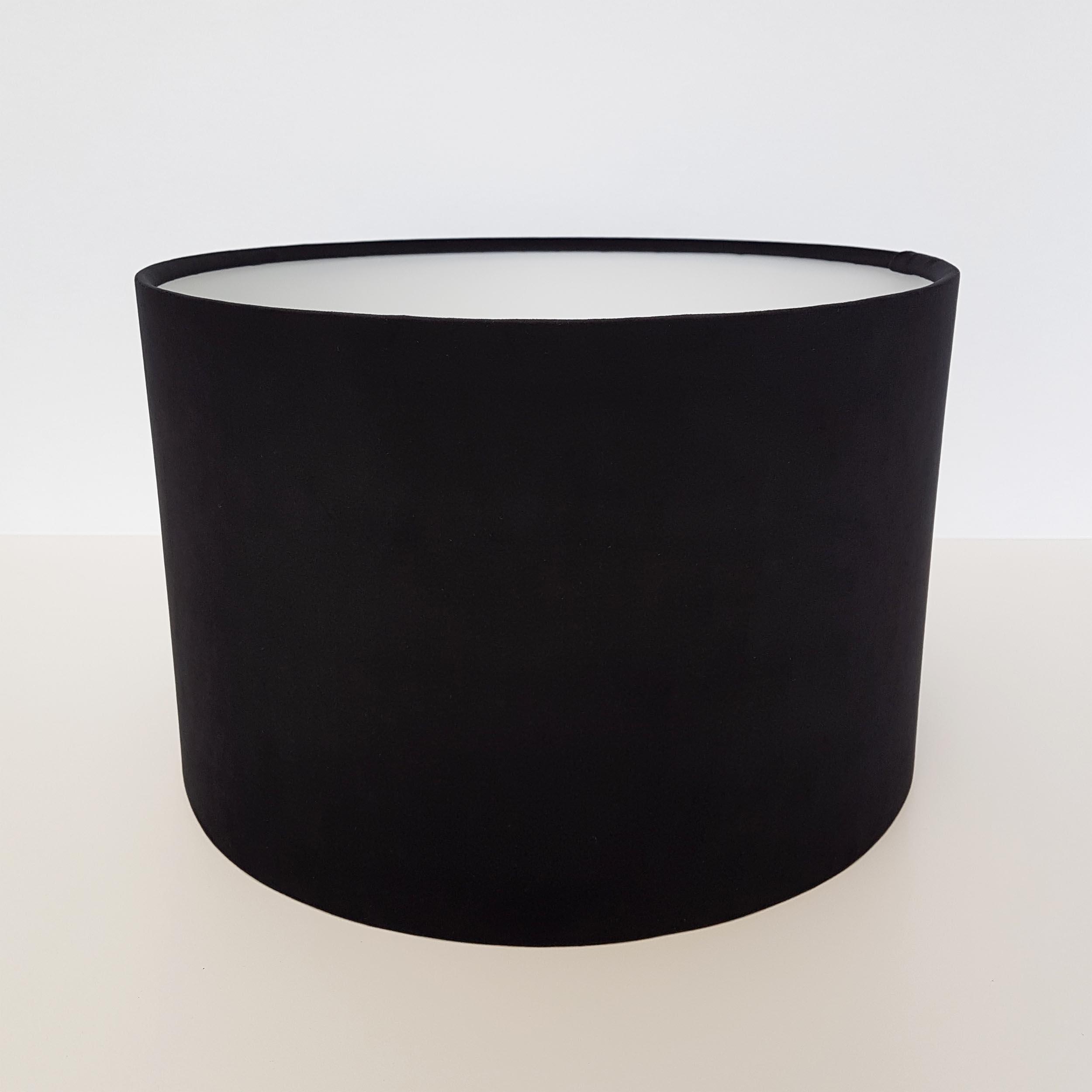 Black Velvet Lampshade