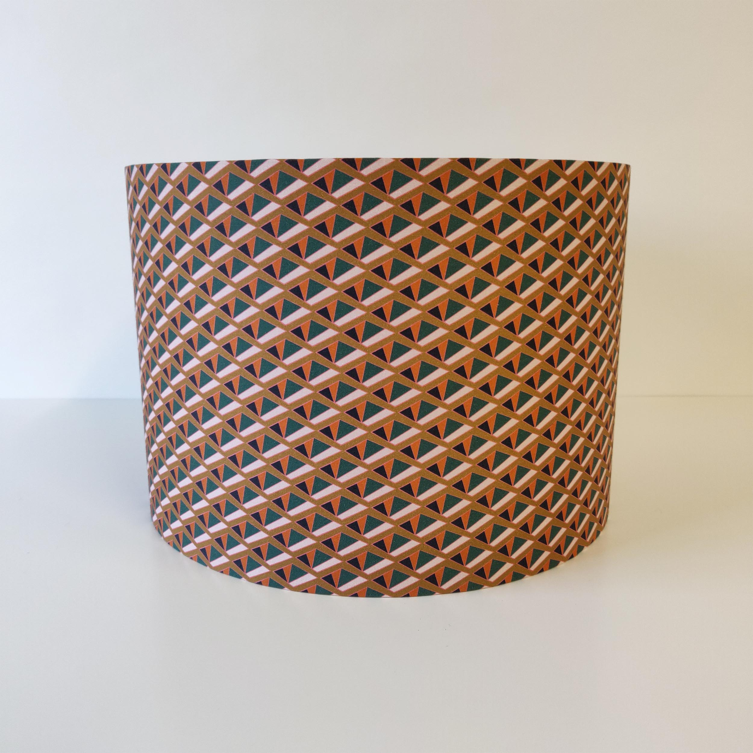 Tiger Lily Geometric Lampshade