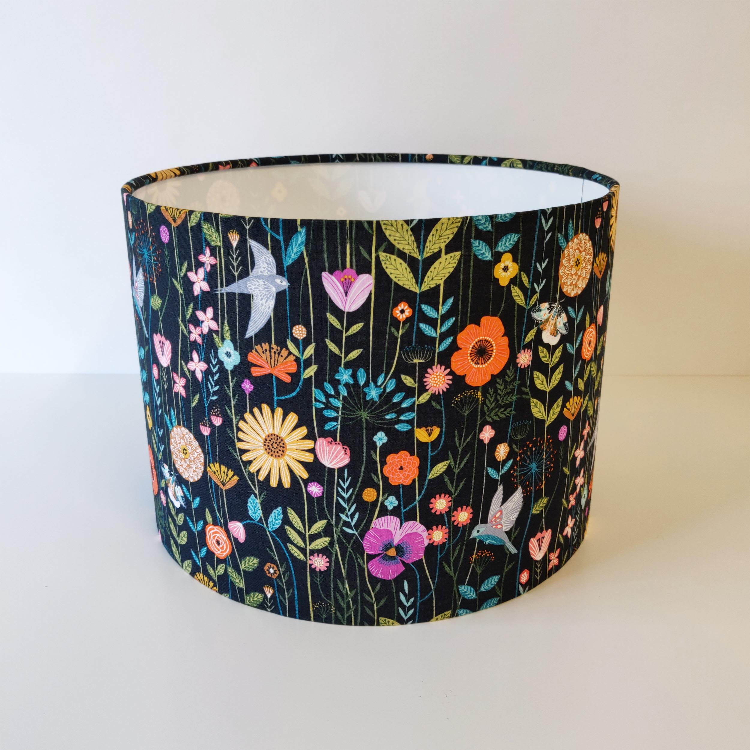 Flowers and Birds Lampshade