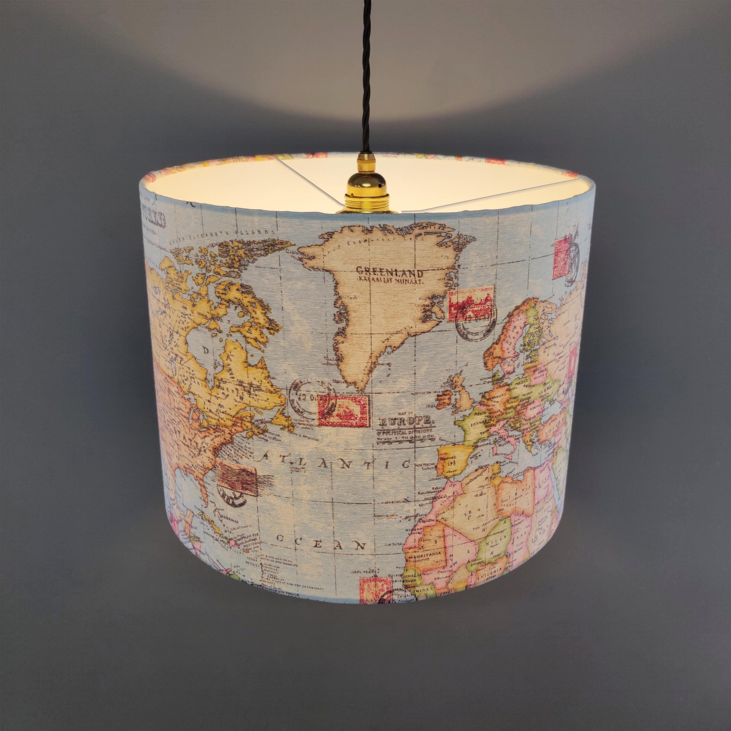 World Map Lightshade