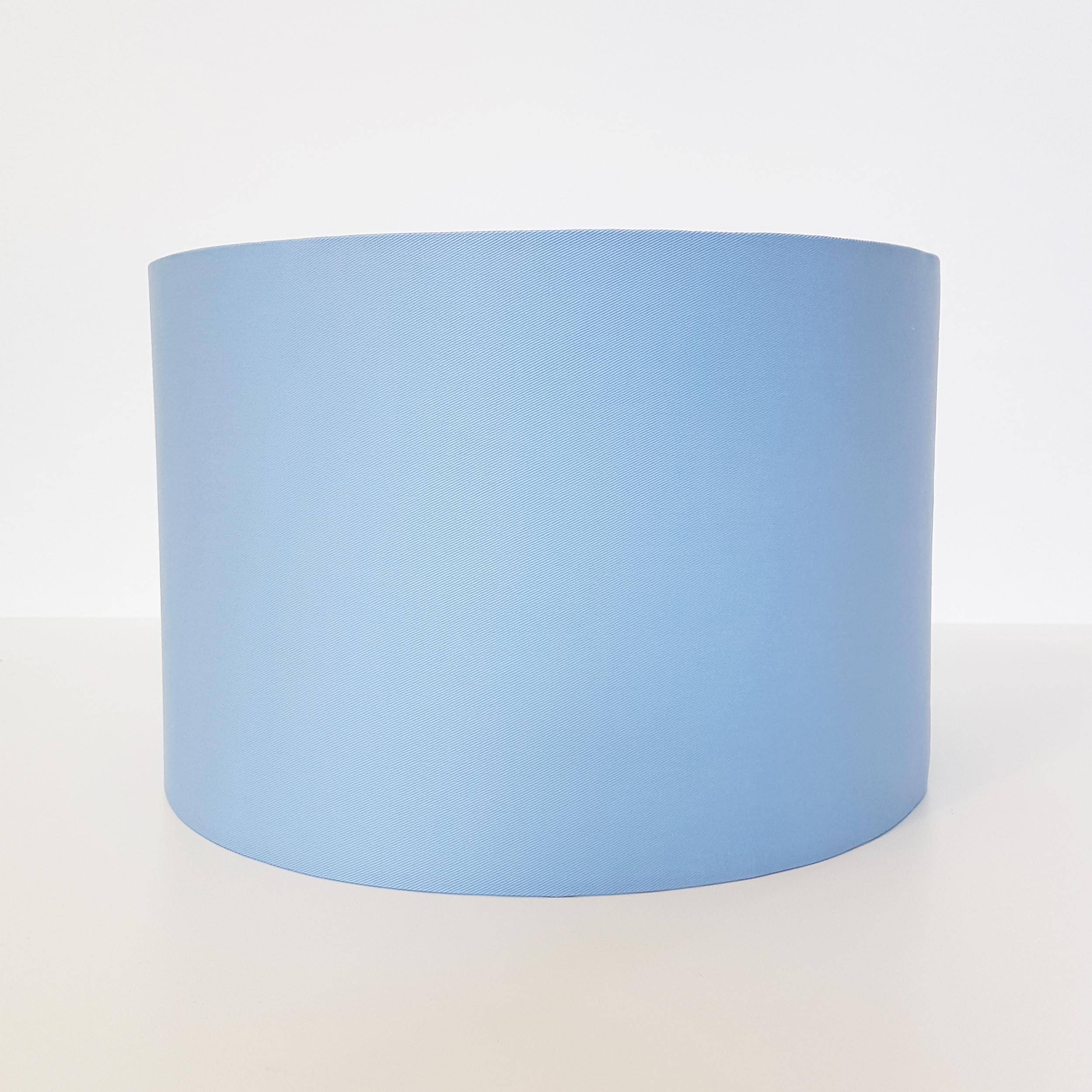 Light Blue Lampshade in Cotton