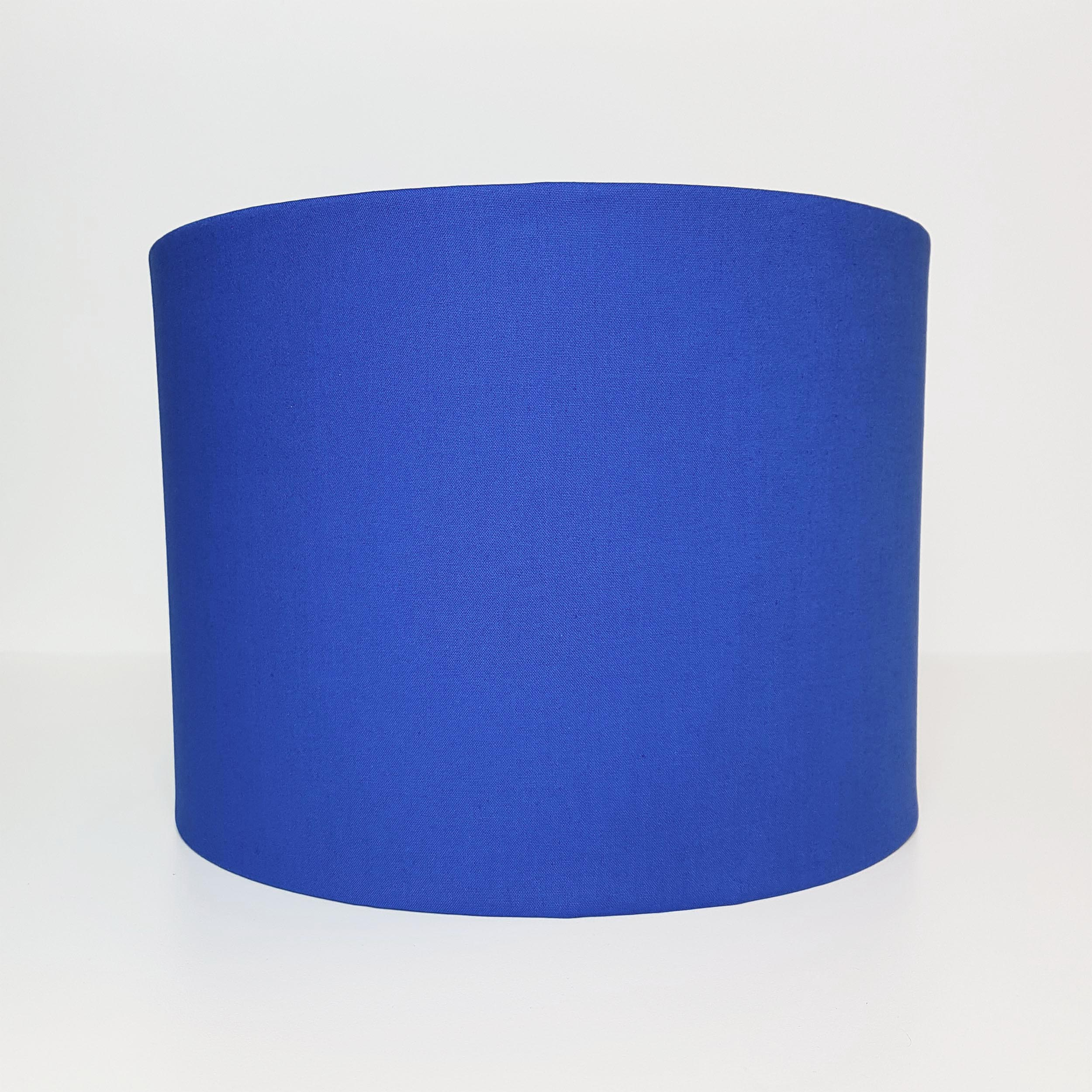 Royal Blue Lamp Shade in Cotton
