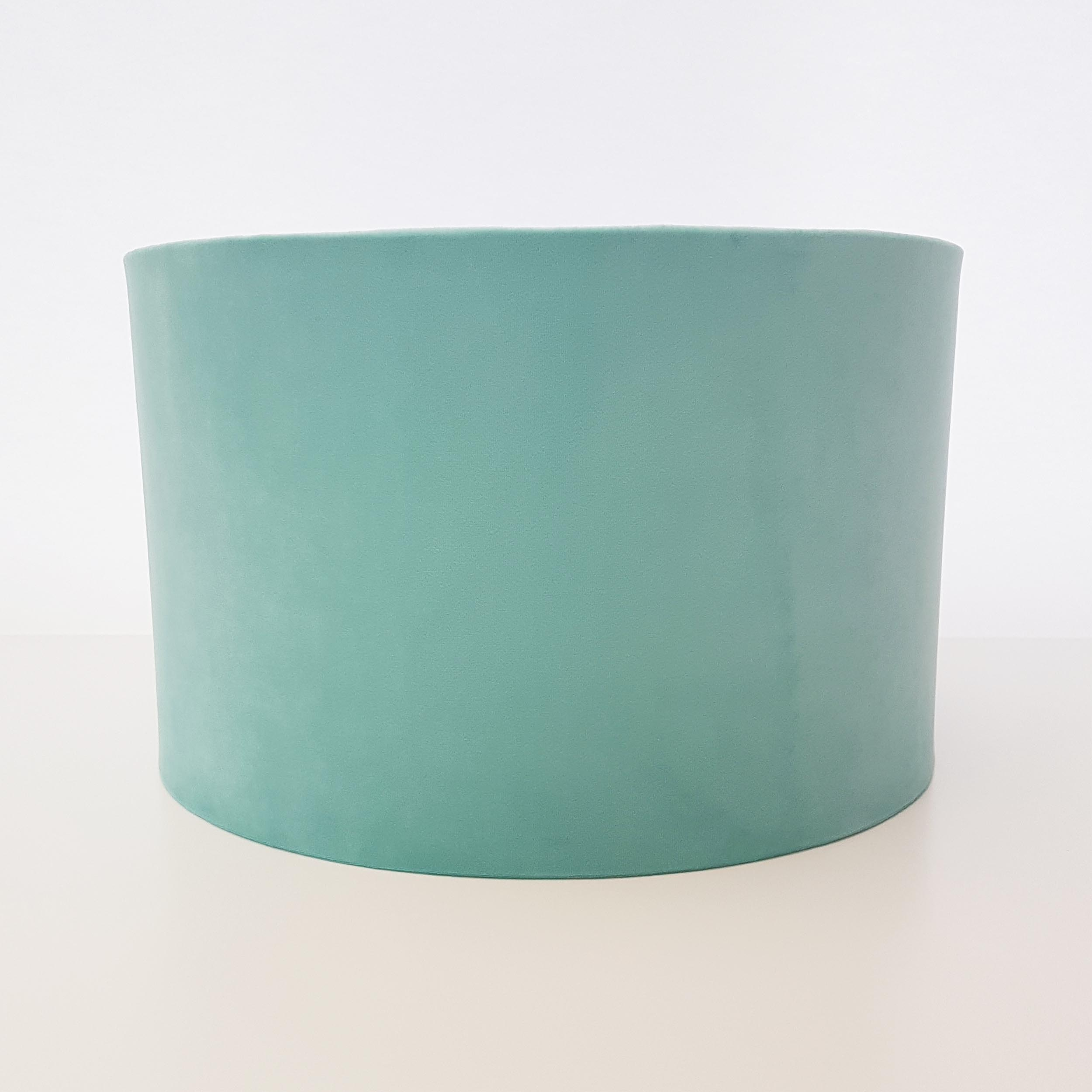 Light Mint Velvet Lampshade