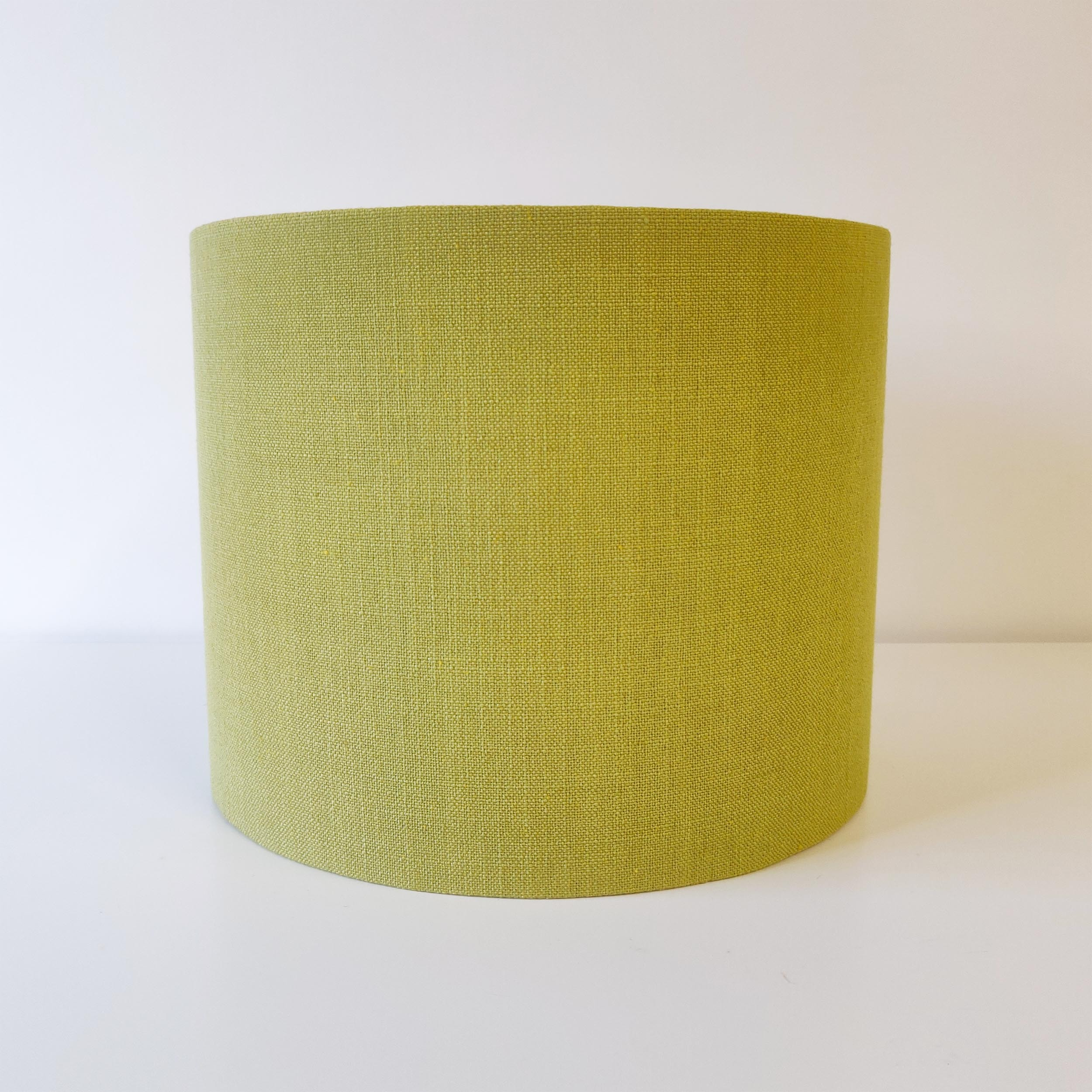 Pistachio Green Linen Lampshade
