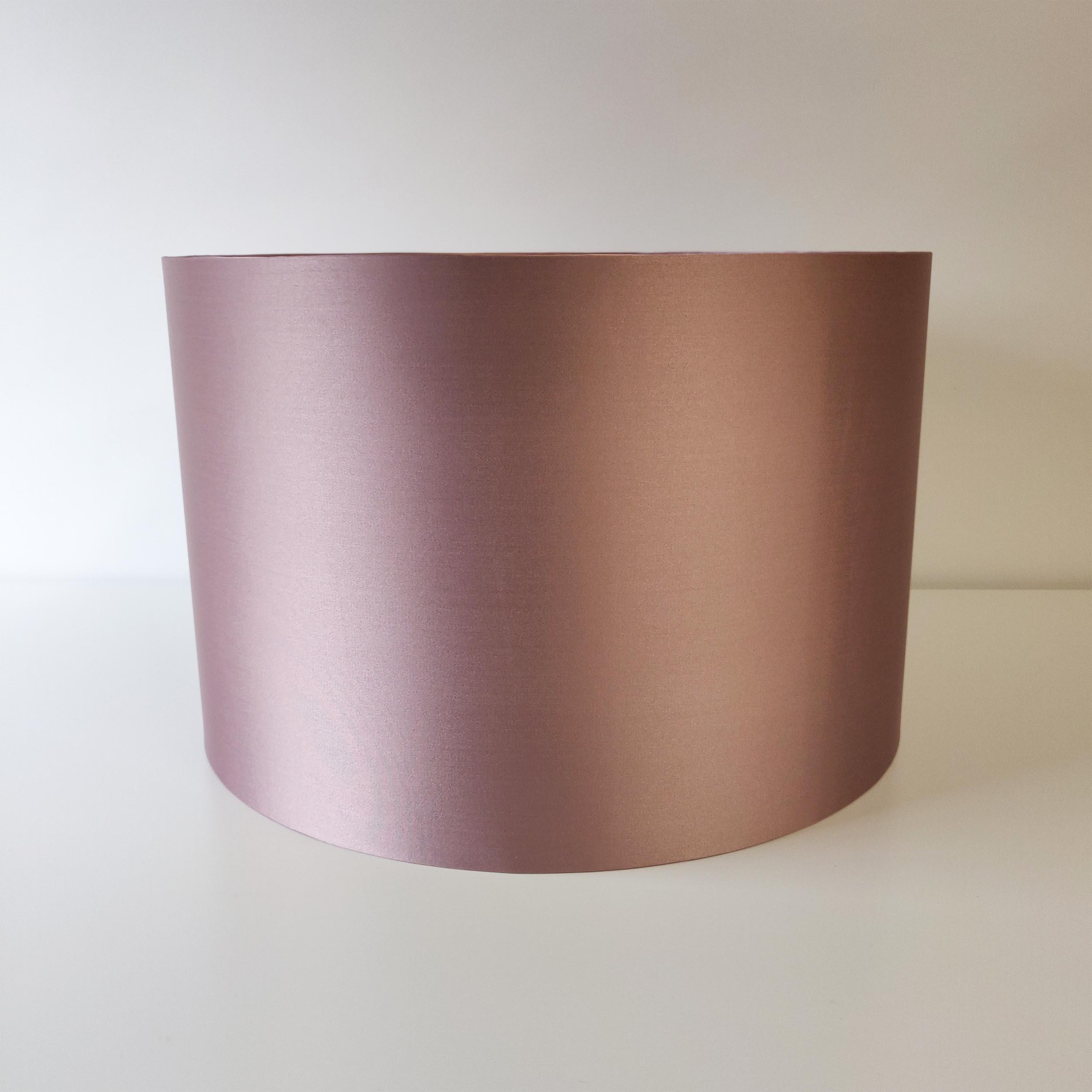 Light Pink Satin Lampshade