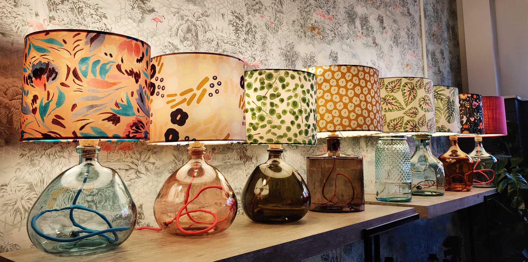 recycled-glass-lamps-on-display.jpg