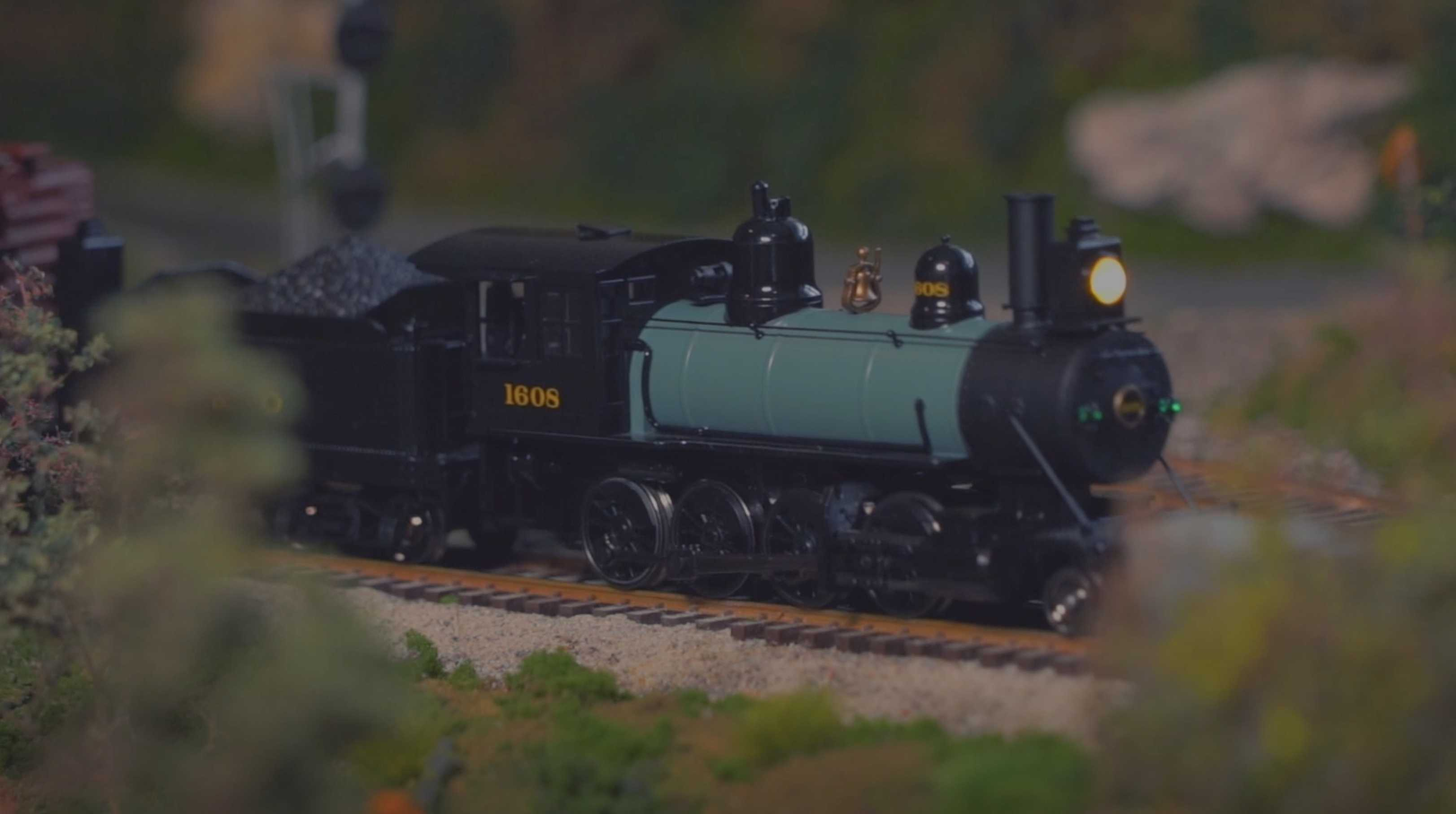 The Athearn HO Scale 2-8-0 with DCC & Sound
