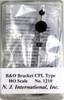 N. J. International HO 1210 B&O Bracket Type CPL Signal